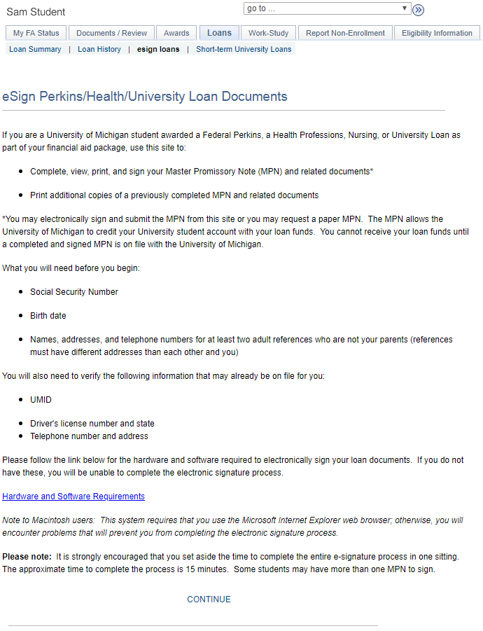 Help eSign PerkinsHealth Loan Documents – Sample Loan Documents