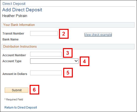 Help Direct Deposit – Direct Deposit Authorization Form Examples